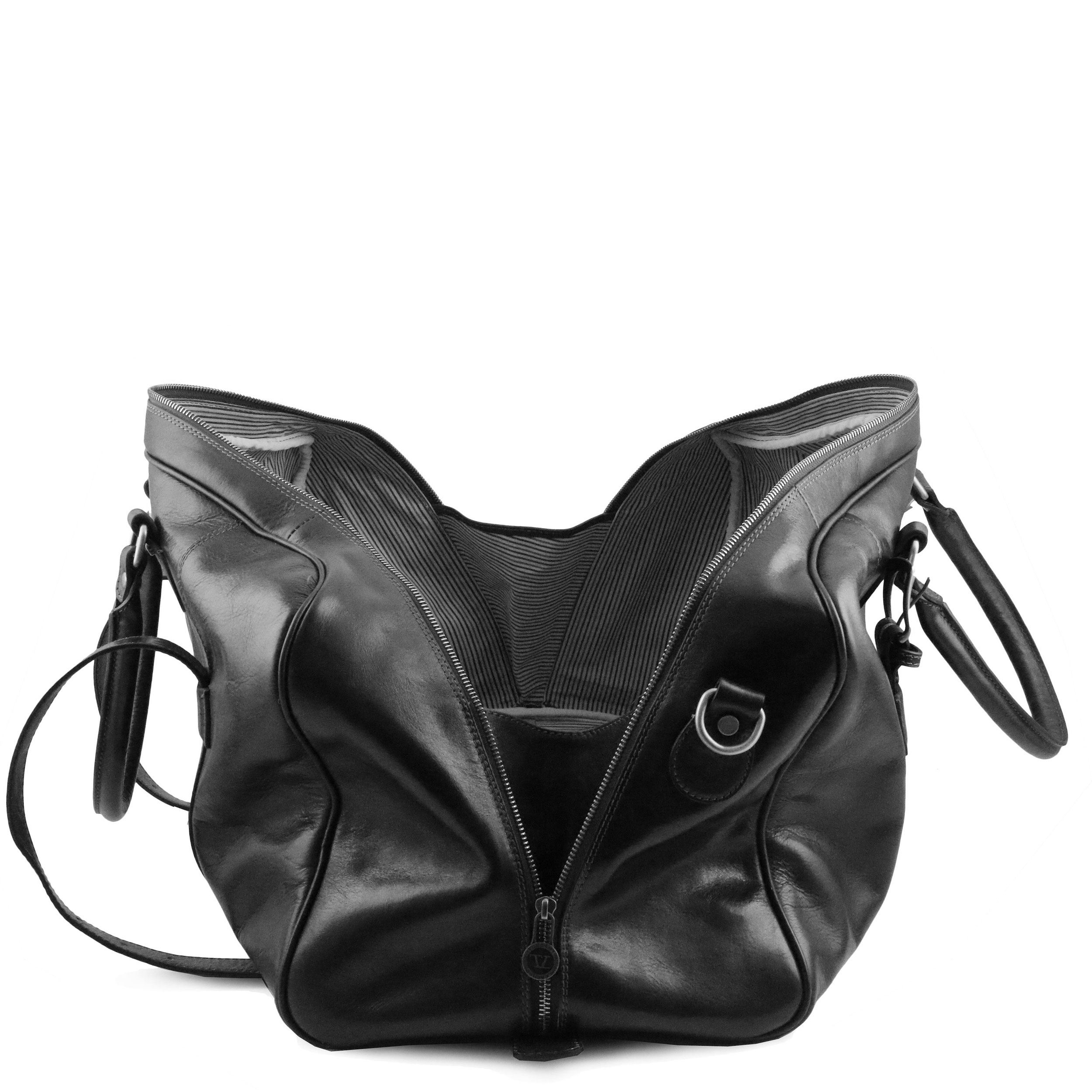 Tuscany Leather TL Voyager Sac de voyage en cuir avec boucles - Petit modèle Miel ZccrpX4wdH