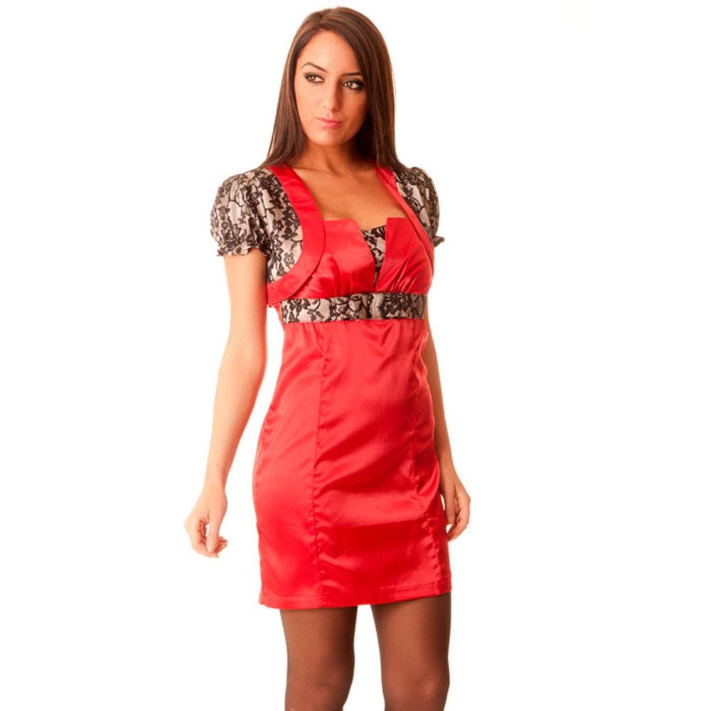 miss wear line bolero rouge avec dentelle noire achat et vente. Black Bedroom Furniture Sets. Home Design Ideas