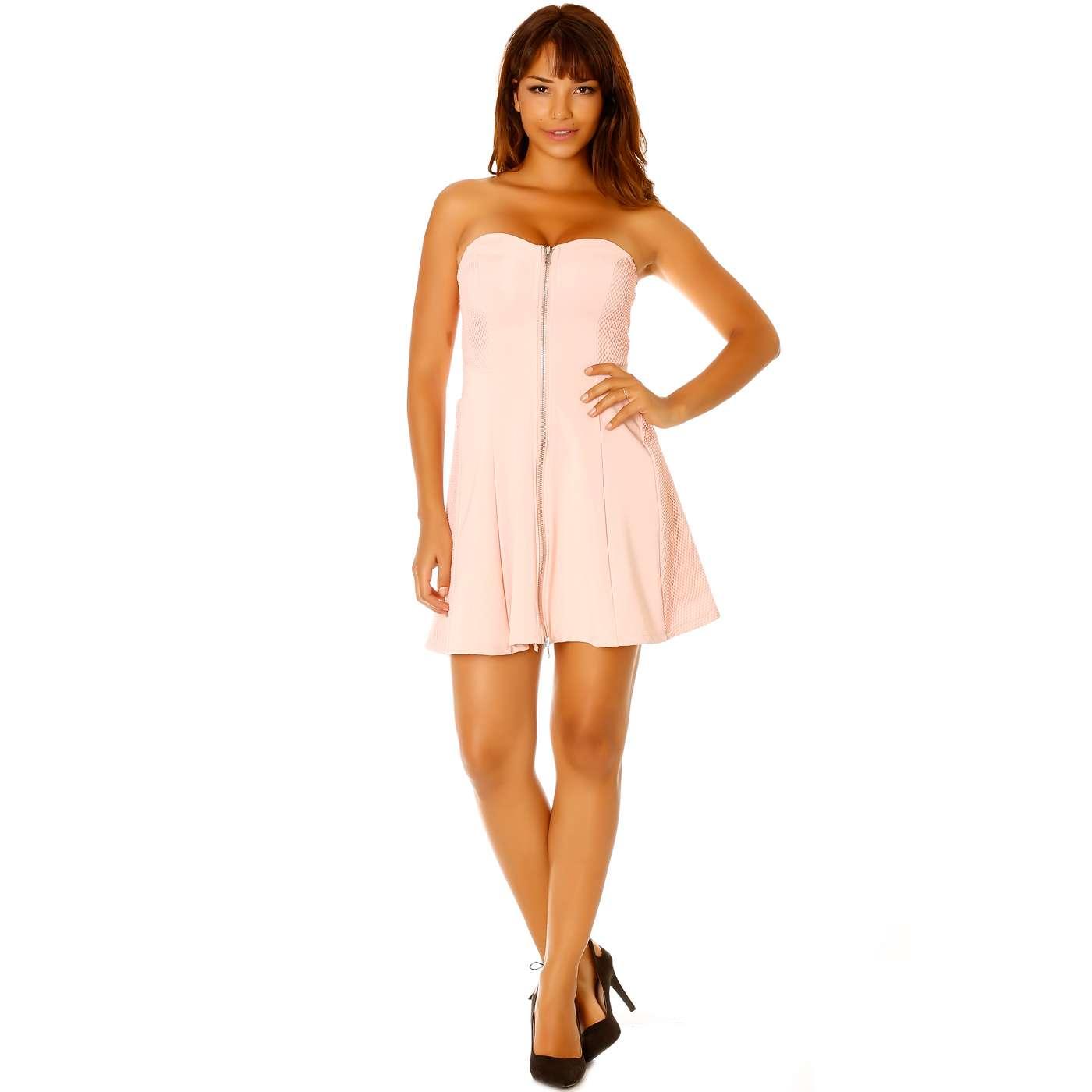 28293f3208c Produit Neuf - Miss Wear Line - Robe bustier rose