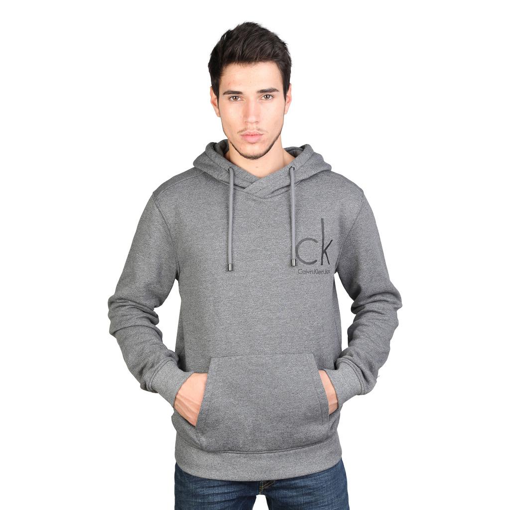 calvin klein t shirt pour homme hannes j3ij300733 073 gris. Black Bedroom Furniture Sets. Home Design Ideas