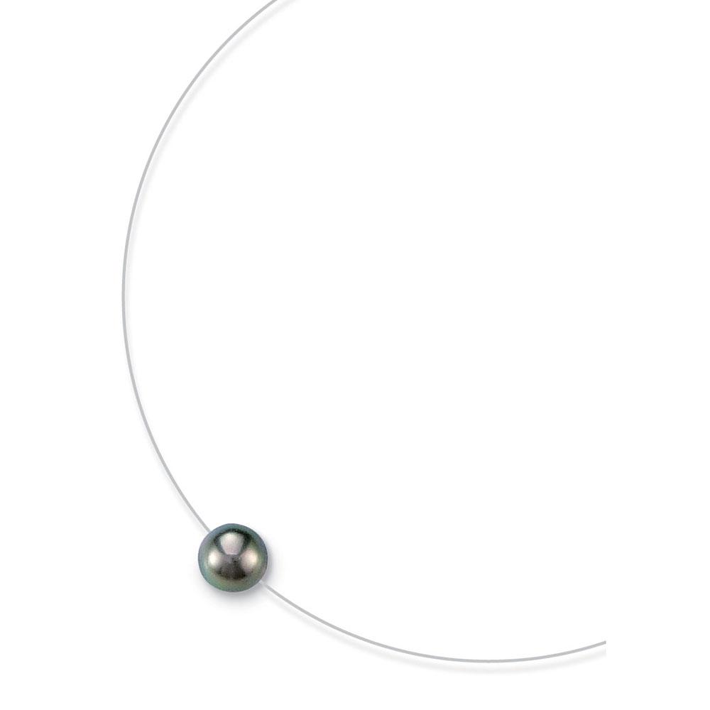 collier perle fil nylon