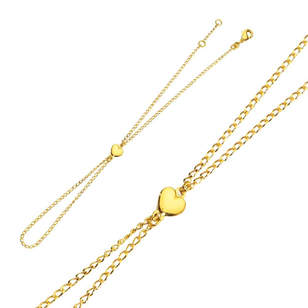 magasin magasiner pour le luxe grosses soldes Parure de main plaqué or