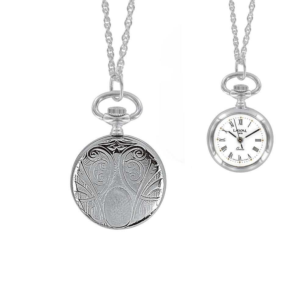 d35f1f18b42 Montre de chez  Jouailla  bijoutier et horloger depuis 1788 (Ref  750 316)  - Cadran blanc - Boîtier palladium