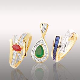 Les bijoux pierres précieuses et diamants de chez SF Bijoux pour femme