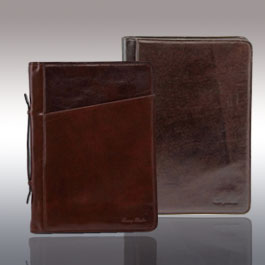 Les porte-documents en cuir de chez Tuscany Leather