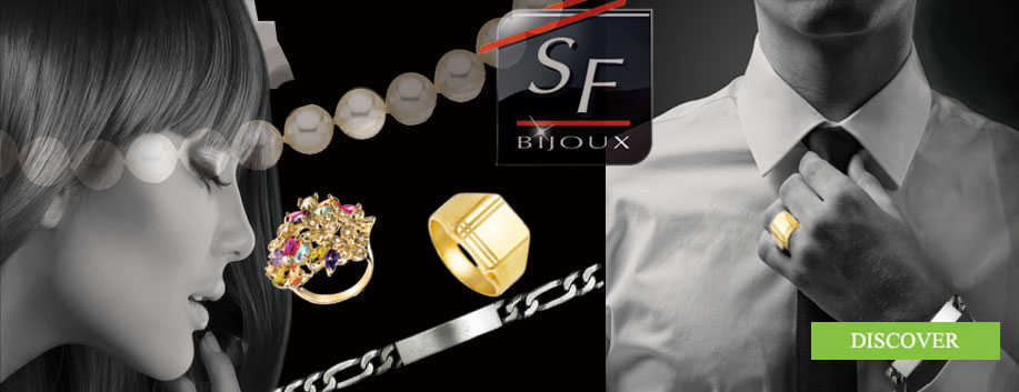 Jewels from SF Bijoux for women, men et children