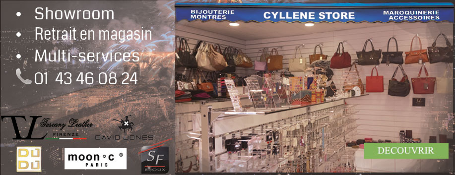 Showroom, Retrait en magasin chez Cyllene Store